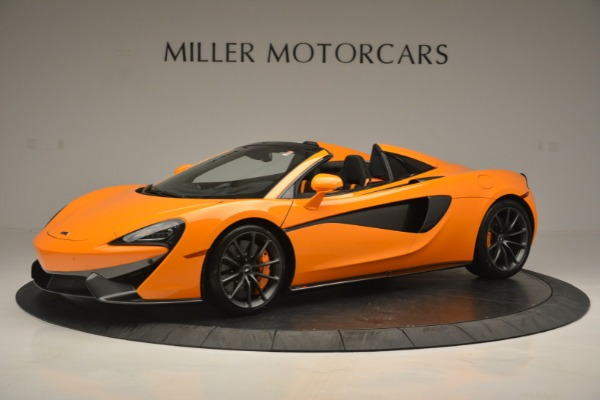 Used 2019 McLaren 570S SPIDER Convertible for sale $215,000 at Rolls-Royce Motor Cars Greenwich in Greenwich CT 06830 1