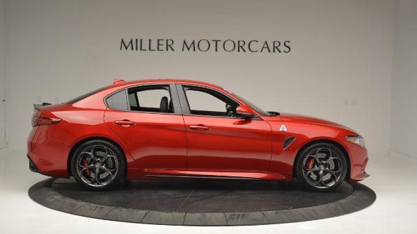 Used 2017 Alfa Romeo Giulia Quadrifoglio for sale Sold at Rolls-Royce Motor Cars Greenwich in Greenwich CT 06830 10