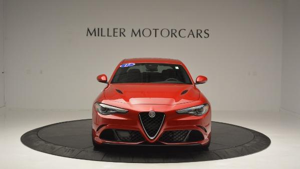 Used 2017 Alfa Romeo Giulia Quadrifoglio for sale Sold at Rolls-Royce Motor Cars Greenwich in Greenwich CT 06830 13