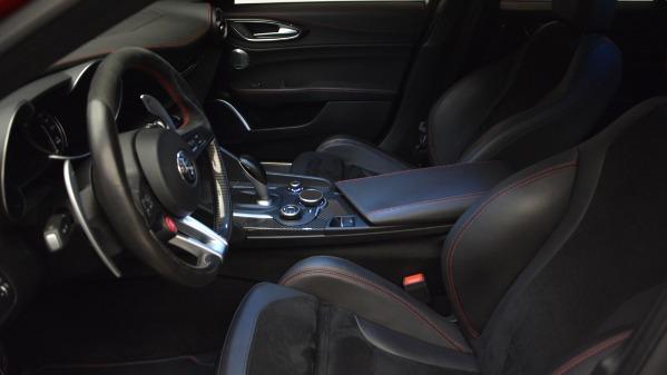 Used 2017 Alfa Romeo Giulia Quadrifoglio for sale Sold at Rolls-Royce Motor Cars Greenwich in Greenwich CT 06830 16