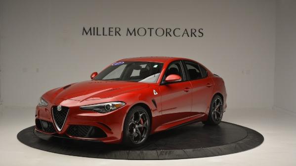 Used 2017 Alfa Romeo Giulia Quadrifoglio for sale Sold at Rolls-Royce Motor Cars Greenwich in Greenwich CT 06830 2