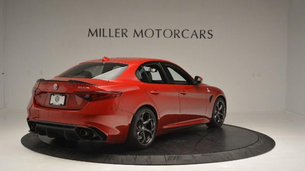 Used 2017 Alfa Romeo Giulia Quadrifoglio for sale Sold at Rolls-Royce Motor Cars Greenwich in Greenwich CT 06830 7