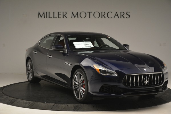 New 2019 Maserati Quattroporte S Q4 for sale Sold at Rolls-Royce Motor Cars Greenwich in Greenwich CT 06830 11