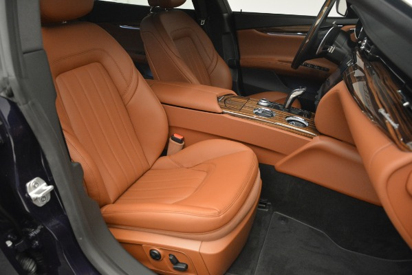 New 2019 Maserati Quattroporte S Q4 for sale Sold at Rolls-Royce Motor Cars Greenwich in Greenwich CT 06830 25
