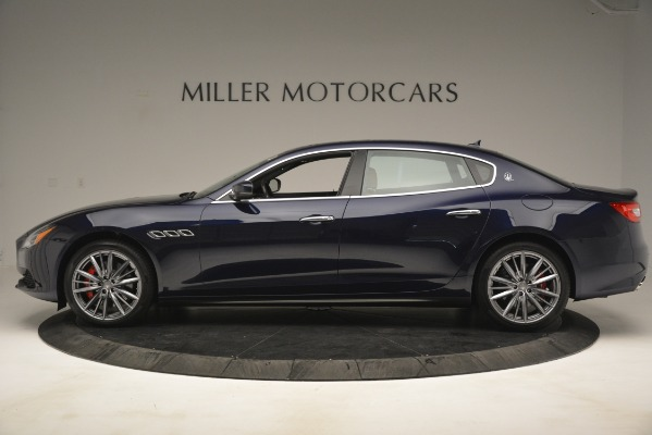 New 2019 Maserati Quattroporte S Q4 for sale Sold at Rolls-Royce Motor Cars Greenwich in Greenwich CT 06830 3