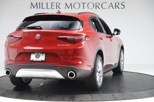 New 2019 Alfa Romeo Stelvio Ti Sport Q4 for sale Sold at Rolls-Royce Motor Cars Greenwich in Greenwich CT 06830 7