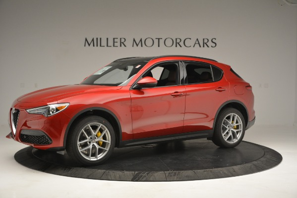 New 2019 Alfa Romeo Stelvio Ti Sport Q4 for sale Sold at Rolls-Royce Motor Cars Greenwich in Greenwich CT 06830 2