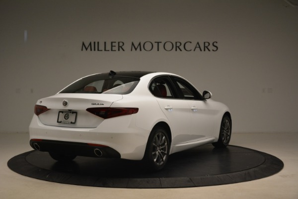 New 2019 Alfa Romeo Giulia Q4 for sale Sold at Rolls-Royce Motor Cars Greenwich in Greenwich CT 06830 7