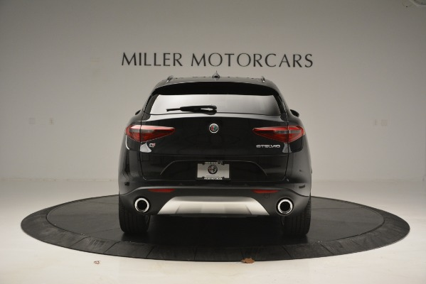 New 2019 Alfa Romeo Stelvio Sport Q4 for sale Sold at Rolls-Royce Motor Cars Greenwich in Greenwich CT 06830 6