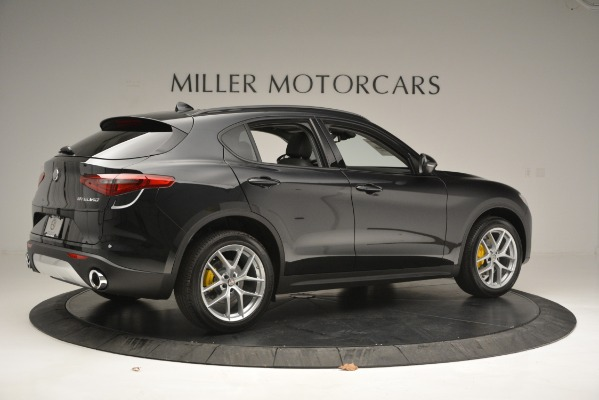 New 2019 Alfa Romeo Stelvio Sport Q4 for sale Sold at Rolls-Royce Motor Cars Greenwich in Greenwich CT 06830 8