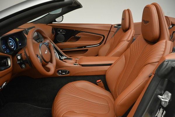 New 2019 Aston Martin DB11 V8 Convertible for sale Sold at Rolls-Royce Motor Cars Greenwich in Greenwich CT 06830 19