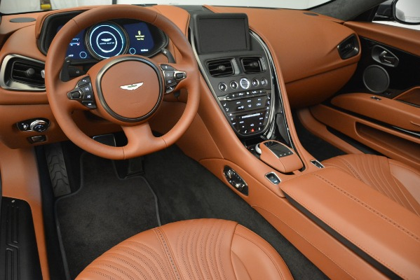 New 2019 Aston Martin DB11 V8 Convertible for sale Sold at Rolls-Royce Motor Cars Greenwich in Greenwich CT 06830 20