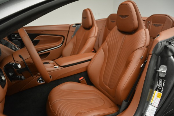 New 2019 Aston Martin DB11 V8 Convertible for sale Sold at Rolls-Royce Motor Cars Greenwich in Greenwich CT 06830 21
