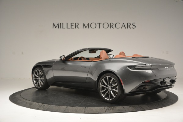 Used 2019 Aston Martin DB11 Volante for sale $214,990 at Rolls-Royce Motor Cars Greenwich in Greenwich CT 06830 3