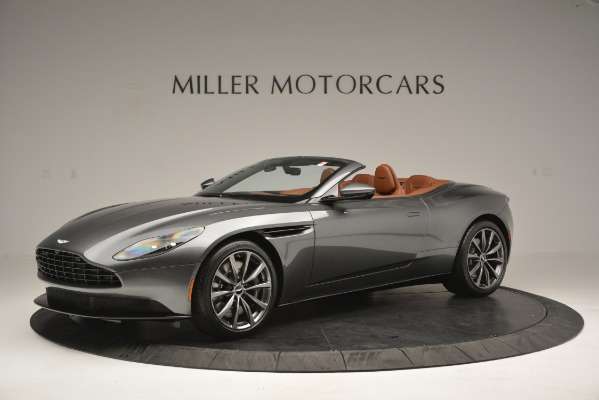 New 2019 Aston Martin DB11 V8 Convertible for sale Sold at Rolls-Royce Motor Cars Greenwich in Greenwich CT 06830 1