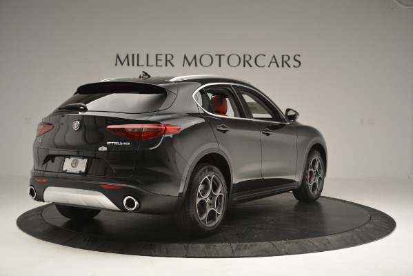 New 2019 Alfa Romeo Stelvio for sale Sold at Rolls-Royce Motor Cars Greenwich in Greenwich CT 06830 8