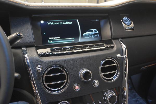 New 2019 Rolls-Royce Cullinan for sale Sold at Rolls-Royce Motor Cars Greenwich in Greenwich CT 06830 20