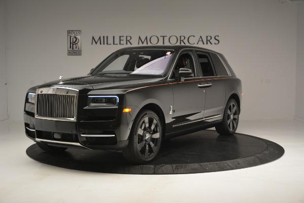 New 2019 Rolls-Royce Cullinan for sale Sold at Rolls-Royce Motor Cars Greenwich in Greenwich CT 06830 1