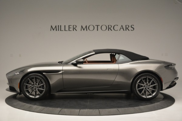 Used 2019 Aston Martin DB11 V8 Convertible for sale Sold at Rolls-Royce Motor Cars Greenwich in Greenwich CT 06830 15