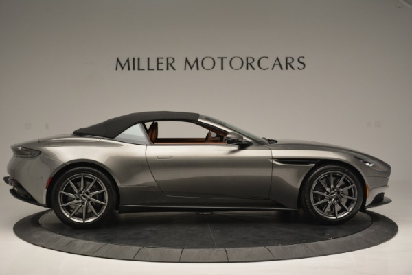 Used 2019 Aston Martin DB11 V8 Convertible for sale Sold at Rolls-Royce Motor Cars Greenwich in Greenwich CT 06830 16