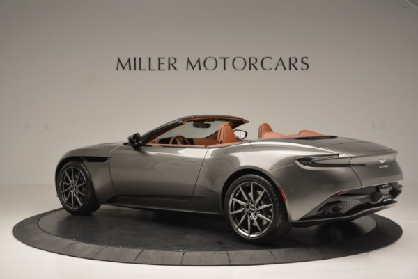 Used 2019 Aston Martin DB11 V8 Convertible for sale Sold at Rolls-Royce Motor Cars Greenwich in Greenwich CT 06830 4
