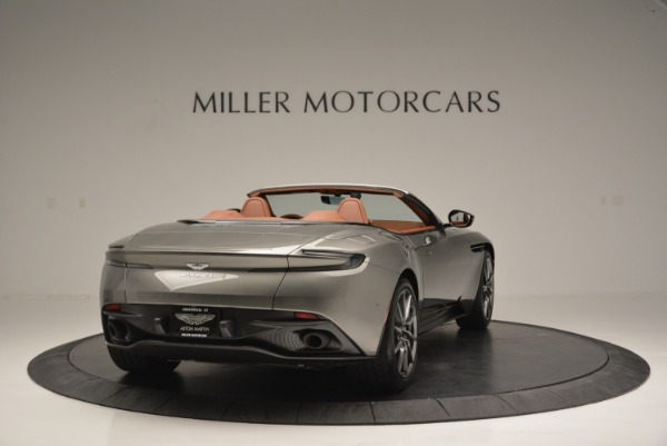 Used 2019 Aston Martin DB11 V8 Convertible for sale Sold at Rolls-Royce Motor Cars Greenwich in Greenwich CT 06830 7