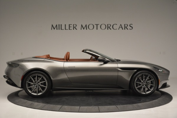 Used 2019 Aston Martin DB11 V8 Convertible for sale Sold at Rolls-Royce Motor Cars Greenwich in Greenwich CT 06830 9