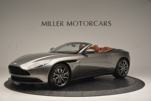Used 2019 Aston Martin DB11 V8 Convertible for sale Sold at Rolls-Royce Motor Cars Greenwich in Greenwich CT 06830 1