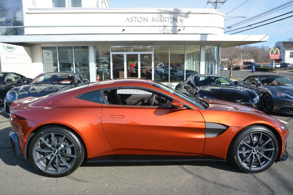 Used 2019 Aston Martin Vantage Coupe for sale Sold at Rolls-Royce Motor Cars Greenwich in Greenwich CT 06830 22