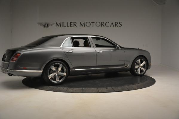New 2019 Bentley Mulsanne Speed for sale Sold at Rolls-Royce Motor Cars Greenwich in Greenwich CT 06830 8