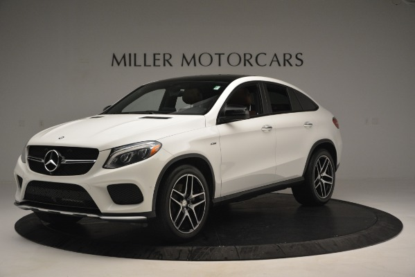 Used 2016 Mercedes-Benz GLE 450 AMG Coupe 4MATIC for sale Sold at Rolls-Royce Motor Cars Greenwich in Greenwich CT 06830 2