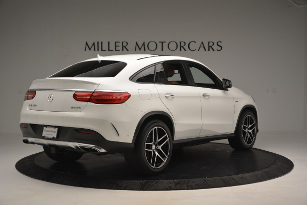 Used 2016 Mercedes-Benz GLE 450 AMG Coupe 4MATIC for sale Sold at Rolls-Royce Motor Cars Greenwich in Greenwich CT 06830 8