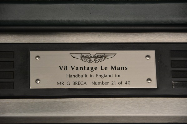 Used 1999 Aston Martin V8 Vantage Le Mans V600 Coupe for sale $499,900 at Rolls-Royce Motor Cars Greenwich in Greenwich CT 06830 19