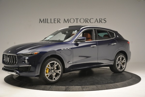 New 2019 Maserati Levante S Q4 GranLusso for sale Sold at Rolls-Royce Motor Cars Greenwich in Greenwich CT 06830 2