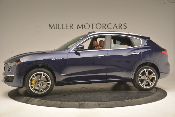 New 2019 Maserati Levante S Q4 GranLusso for sale Sold at Rolls-Royce Motor Cars Greenwich in Greenwich CT 06830 3