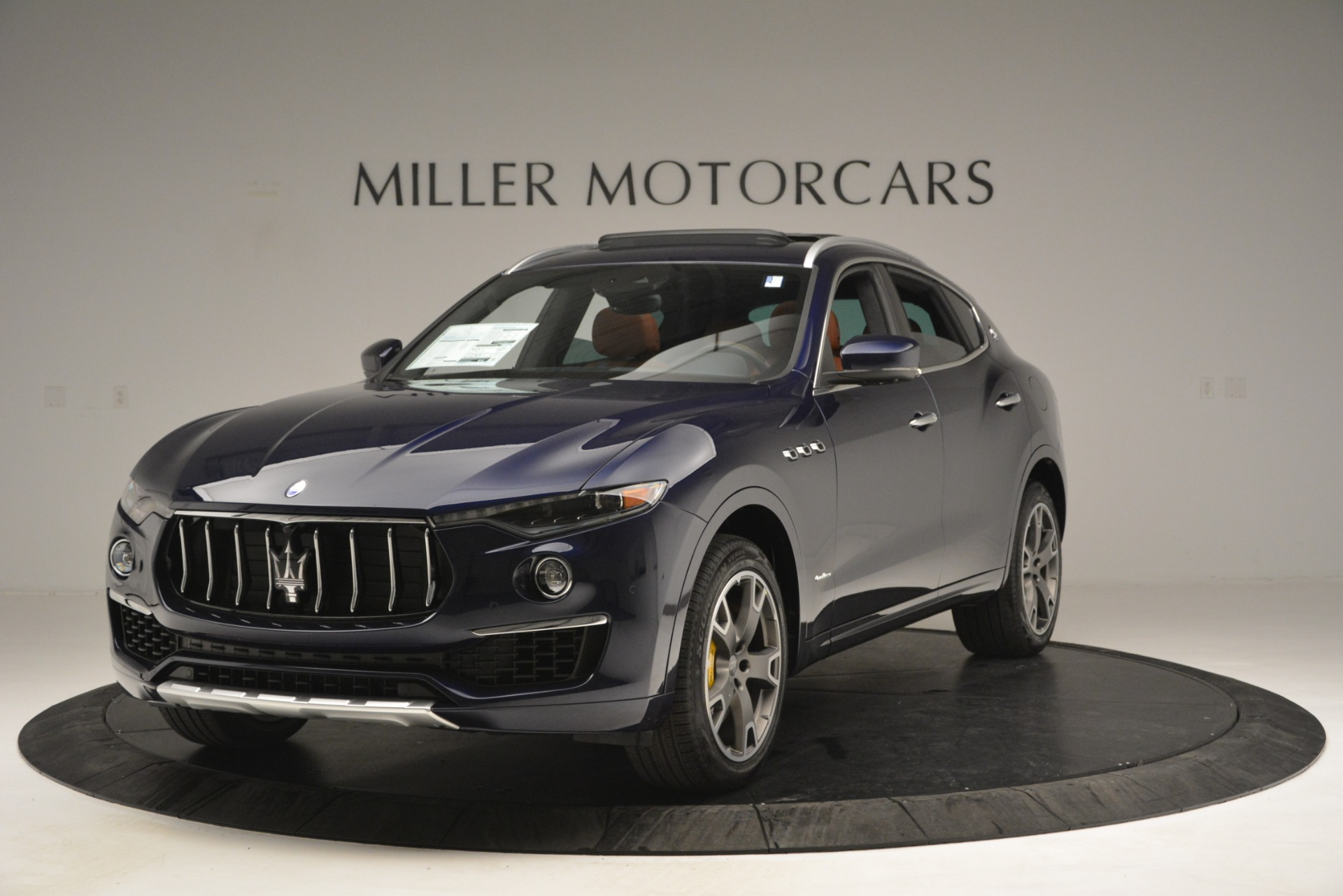 New 2019 Maserati Levante S Q4 GranLusso for sale Sold at Rolls-Royce Motor Cars Greenwich in Greenwich CT 06830 1