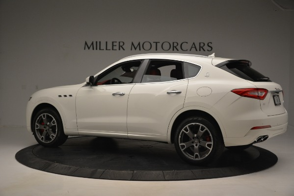 New 2019 Maserati Levante Q4 for sale Sold at Rolls-Royce Motor Cars Greenwich in Greenwich CT 06830 4