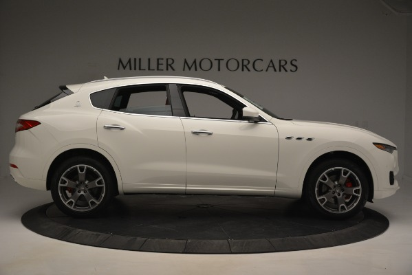 New 2019 Maserati Levante Q4 for sale Sold at Rolls-Royce Motor Cars Greenwich in Greenwich CT 06830 9