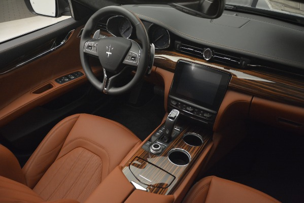 New 2019 Maserati Quattroporte S Q4 GranLusso for sale Sold at Rolls-Royce Motor Cars Greenwich in Greenwich CT 06830 16