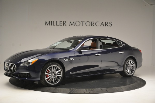 New 2019 Maserati Quattroporte S Q4 GranLusso for sale Sold at Rolls-Royce Motor Cars Greenwich in Greenwich CT 06830 2
