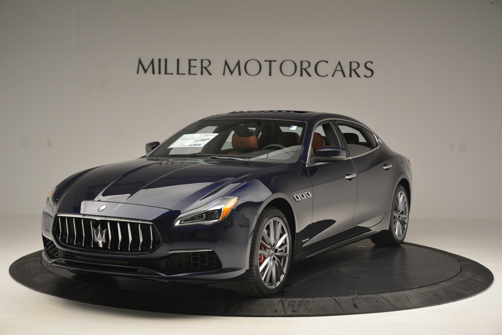 New 2019 Maserati Quattroporte S Q4 GranLusso for sale Sold at Rolls-Royce Motor Cars Greenwich in Greenwich CT 06830 1