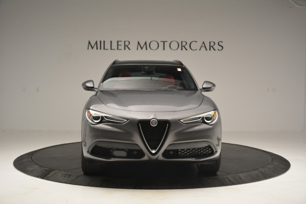 New 2019 Alfa Romeo Stelvio Sport Q4 for sale Sold at Rolls-Royce Motor Cars Greenwich in Greenwich CT 06830 12