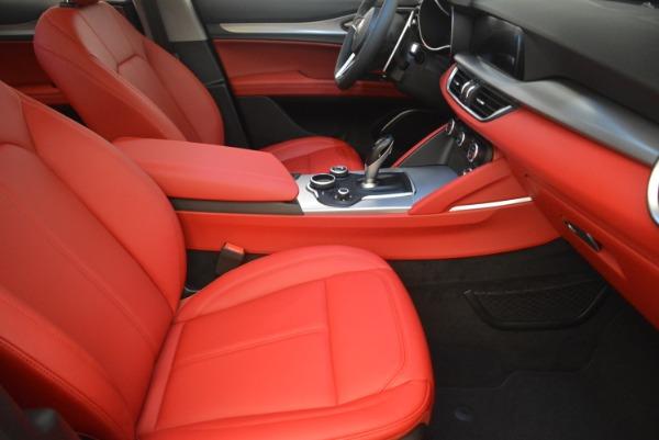 New 2019 Alfa Romeo Stelvio Sport Q4 for sale Sold at Rolls-Royce Motor Cars Greenwich in Greenwich CT 06830 20