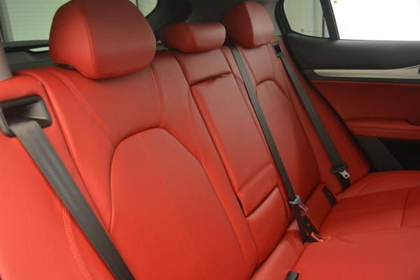 New 2019 Alfa Romeo Stelvio Sport Q4 for sale Sold at Rolls-Royce Motor Cars Greenwich in Greenwich CT 06830 24
