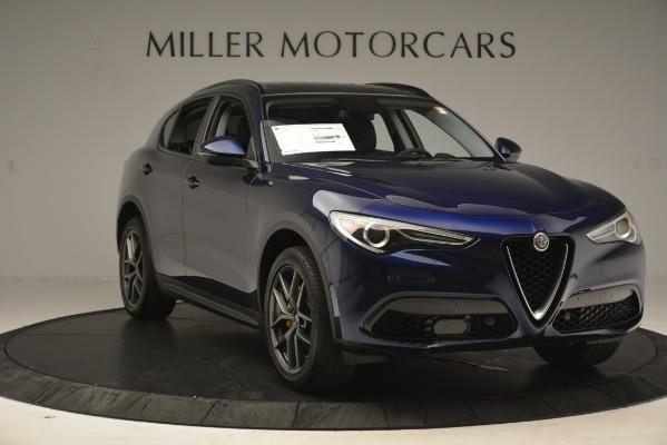 New 2019 Alfa Romeo Stelvio Sport Q4 for sale $49,940 at Rolls-Royce Motor Cars Greenwich in Greenwich CT 06830 11