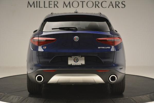 New 2019 Alfa Romeo Stelvio Sport Q4 for sale $49,940 at Rolls-Royce Motor Cars Greenwich in Greenwich CT 06830 6