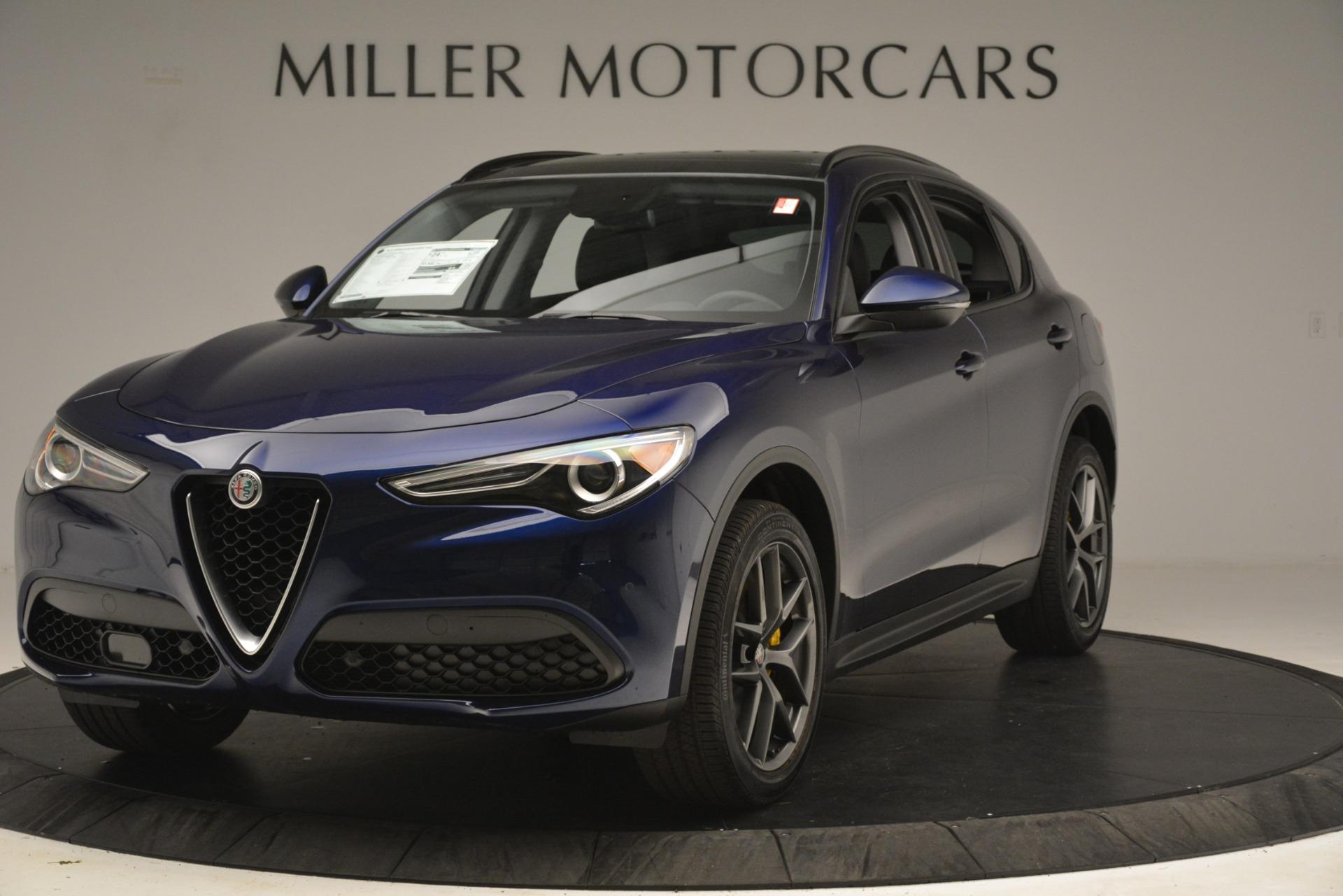 New 2019 Alfa Romeo Stelvio Sport Q4 for sale $49,940 at Rolls-Royce Motor Cars Greenwich in Greenwich CT 06830 1