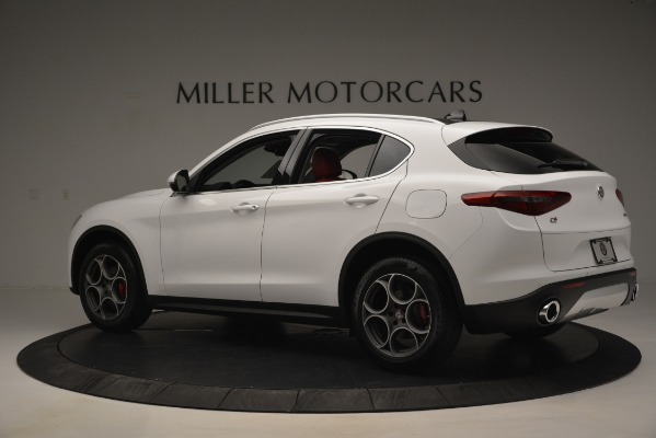 New 2019 Alfa Romeo Stelvio Q4 for sale Sold at Rolls-Royce Motor Cars Greenwich in Greenwich CT 06830 4