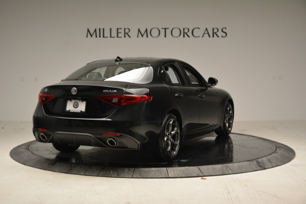 New 2019 Alfa Romeo Giulia Ti Sport Q4 for sale Sold at Rolls-Royce Motor Cars Greenwich in Greenwich CT 06830 7