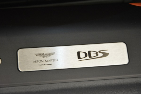 Used 2019 Aston Martin DBS Superleggera Coupe for sale $265,900 at Rolls-Royce Motor Cars Greenwich in Greenwich CT 06830 27